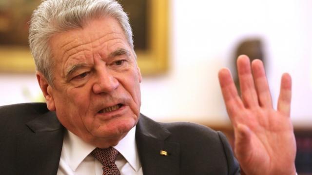 Präsident Gauck Syrien ist eine einzige Katastrophe!