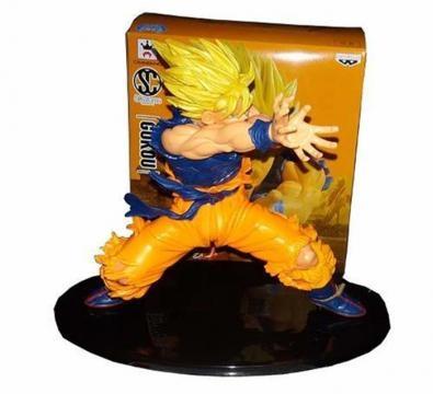 Figura de colección de Goku 'Kame hame ha'