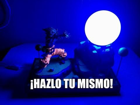 Lámpara de Dragon Ball Z (Goku)
