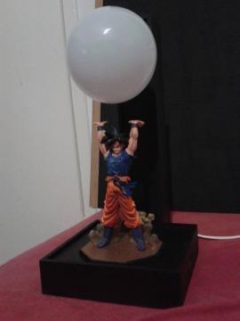 Otro ejemplo de lámpara (Goku 'genkidama')
