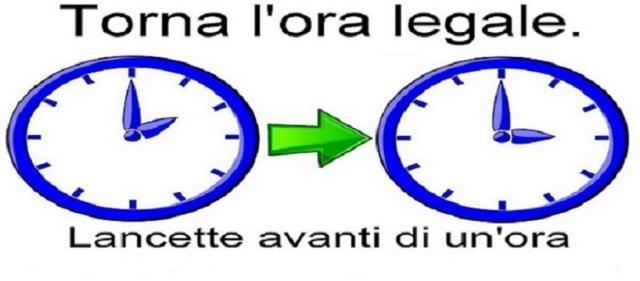 Cambio ora legale 2016 in italia quando e come spostare for Cambio ora 2016