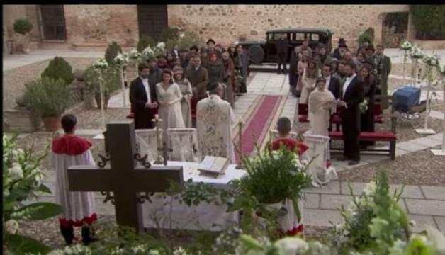 Il segreto due nozze celebrate in spagna lucas for Il segreto news spagna