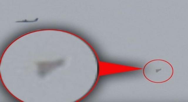 Existe a suspeita do objeto ser o avião secreto TR-3B.