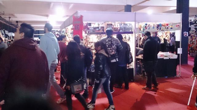 Stands participantes del anime friends 2016