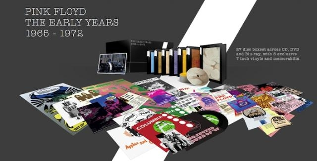A Closer Look At Pink Floyd S The Early Years Box Set
