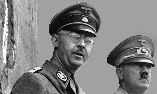 Himmler z Hitlerem podczas parady - fineartamerica.com