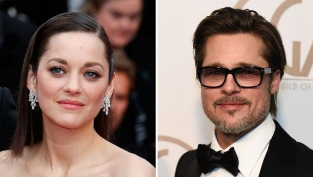 Brad pitt and marion cotillard could be in love