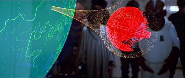 El efecto de unos segundos generado por ordenador en los 80'srepresentaba un costo similar al de filmación con actores