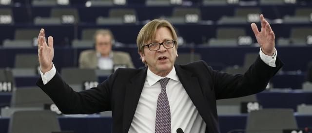 Guy Verhofstadt, capogruppo di ALDE, ha detto 'no' all'alleanza con il M5S