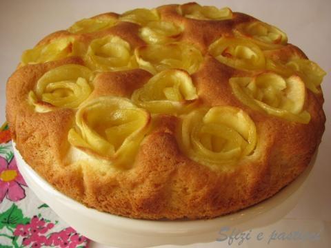 Бисквит с яблоками рецепт с фото пошагово в духовке
