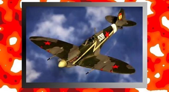 Ten śliczny samolocik to podarowany Stalinowi Spitfire! (YouTube screenshot)