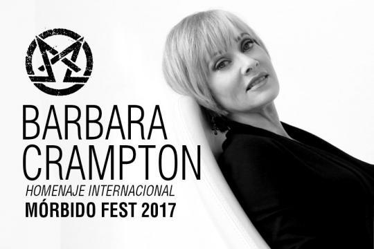 La icónica Barbara Crampton visitará México para ser homenajeada.