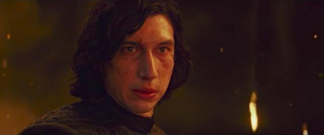 Adam Driver as Kylo Ren/Ben Solo-YouTube/Star Wars