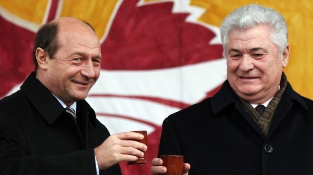 Anul 2005, Băsescu se întâlnește cu Voronin