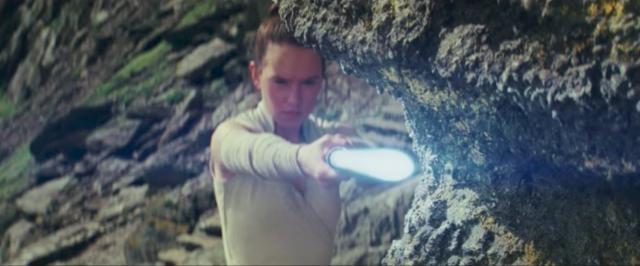 Daisy Ridley as Rey-YouTube/Star Wars