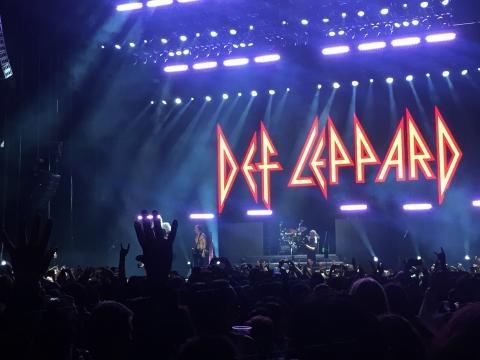 Def Leppard celebró sus 40 años como banda de rock