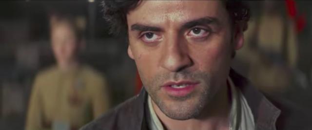 Oscar Isaac as Poe Dameron-YouTube/Star Wars