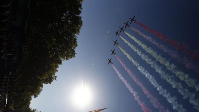 Rajoy desfile 12-O. Muere piloto Eurofighter tras desfile Día de la Hispanidad