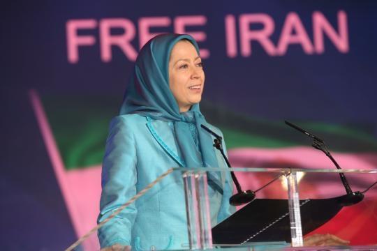 Maryam Rajavi, President-elect of the National Council of Resistance of Iran (NCRI), Photo credit: Siavosh Hosseini