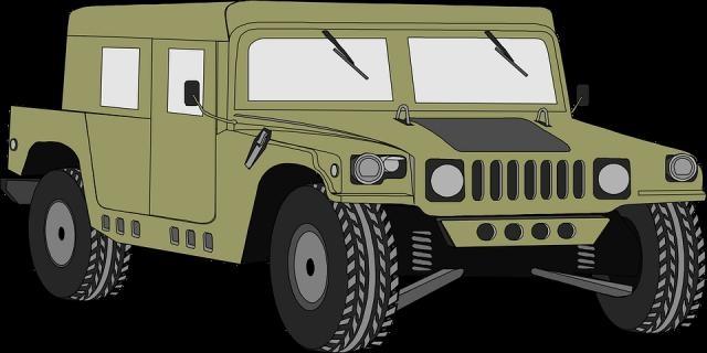 The Humvee, mainstay vehicle of US army Photo -pixabay.com/en/hummer-vehicle-humvee-military-34897/