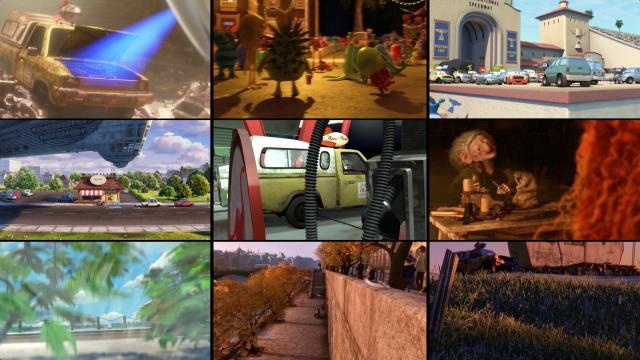 Algunas películas en donde aparece la Camioneta Pizza Planeta.