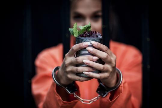 Kapranos PR: Cocktails behind bars at Alcotraz
