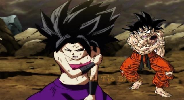 Dragon Ball Super 111 - 112 - 113 - 114. Caulifa dispuesta a sacrificarse por Goku.