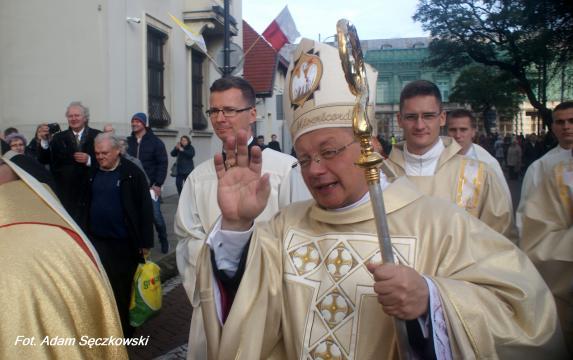 Abp. Grzegorz Ryś głową łódzkiego Kościoła (fot. Adam Sęczkowski)