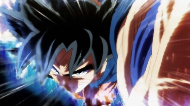 Dragon Ball Super: Wiss enseña a Goku la nueva transformación.