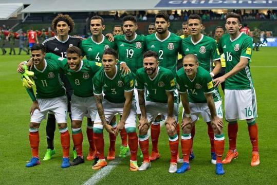 El once inicial de la Selección Mexicana