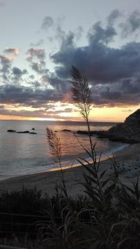 Strand bei Capo Vaticano Nähe Santa Maria
