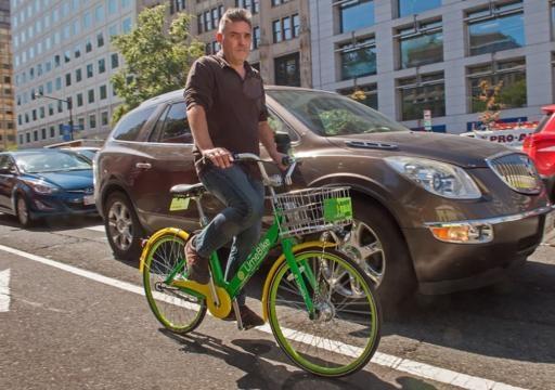 vélo en libre-service