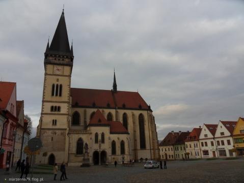 Bardiejov, bazylika św. Idziego (fot. własne Autora)