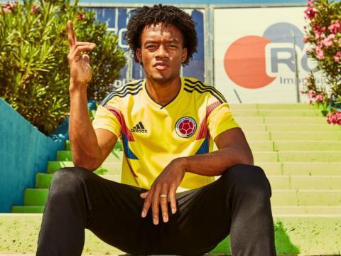 Juan Cuadrado pour la Colombie