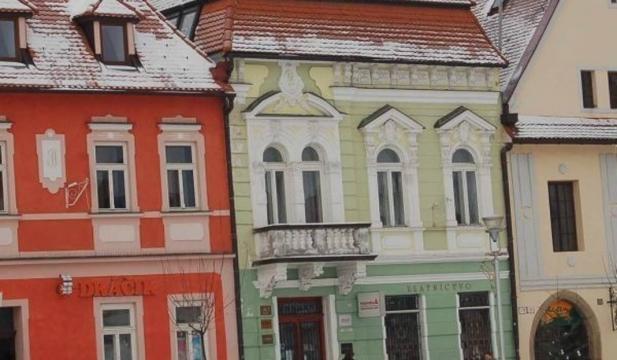 Kamieniczki na bardiejowskim rynku (fot. własne Autora)