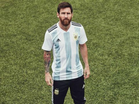 Lionel Messi pour l'Argentine.