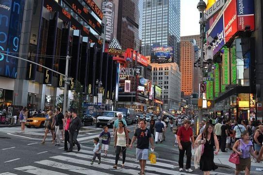 Street scene of New York (Image credit: Chanilim714 – Wikimedia Commons)