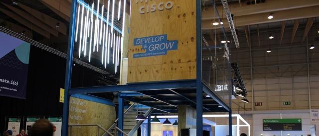 A Cisco marcou também a sua presença