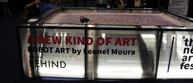 Arte feita por robôs, um novo tipo de arte