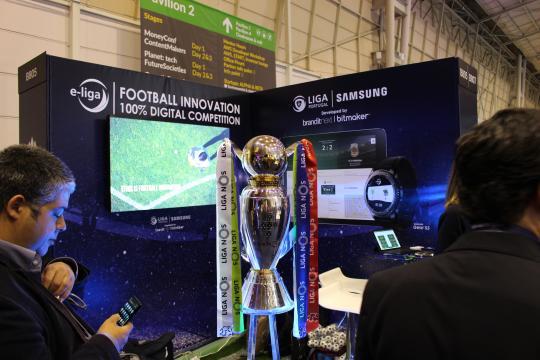 O Futebol marcou também presença no Web Summit