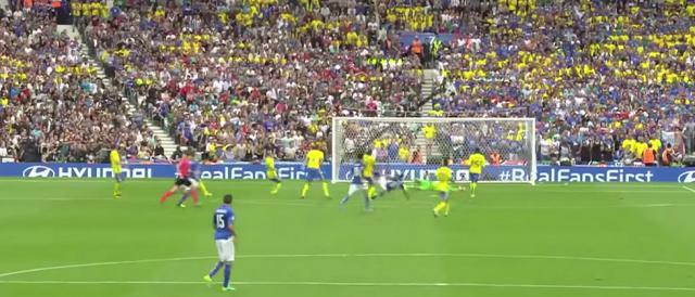 Un momento di un precedente incontro fra Svezia e Italia