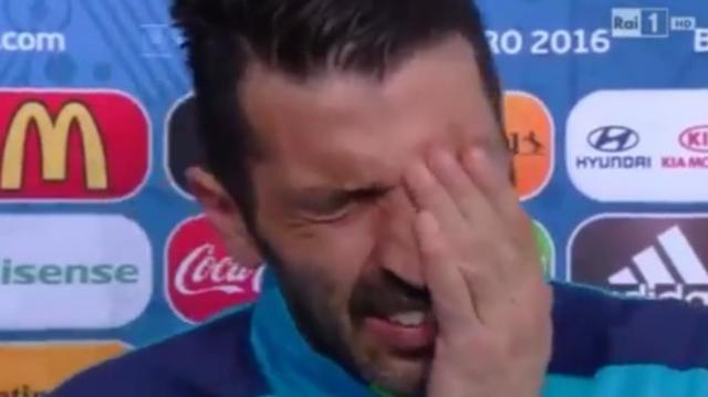 Euro 2016, Italia: Buffon in lacrime dopo la sconfitta - Tuttosport - tuttosport.com