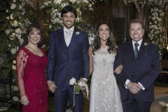 Família de Silvio Santos; casamento de Patrícia Abravanel e Fábio Faria