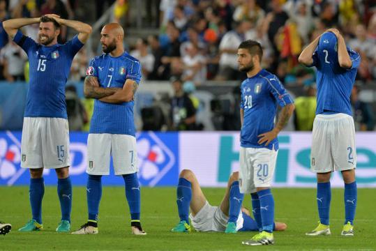 Itália não ficava fora de uma Copa desde 1958