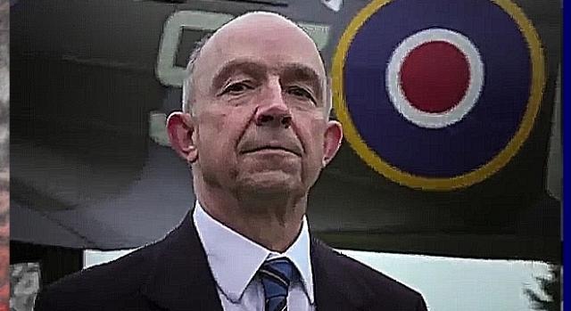 Jego syn Richard Kornicki – uznany naukowiec i zwolennik idei pomnika polskich lotników RAF (scrn)
