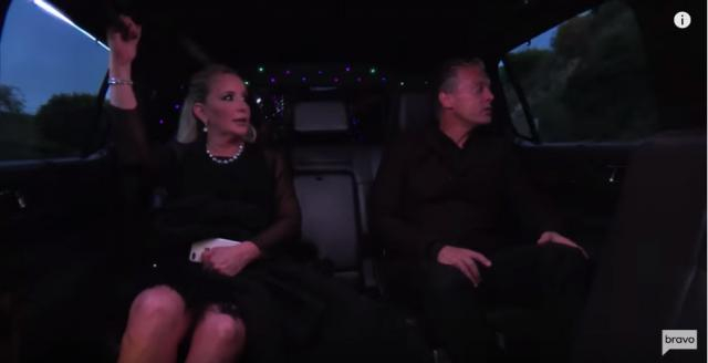 The Beador's on their way to the Edmunds party - [Image via YouTube/Bravotv'