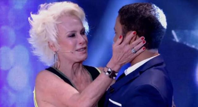 Cantora agradeceu aos avós do convidado