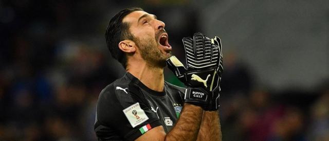 Coupe du monde 2018 : L'Italie n'y sera pas !