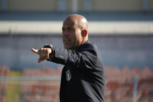 Gigi Di Biagio, probabile 'traghettatore' della Nazionale italiana fino a giugno 2018