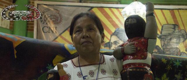 La campaña electoral de María de Jesús Patricio Martínez